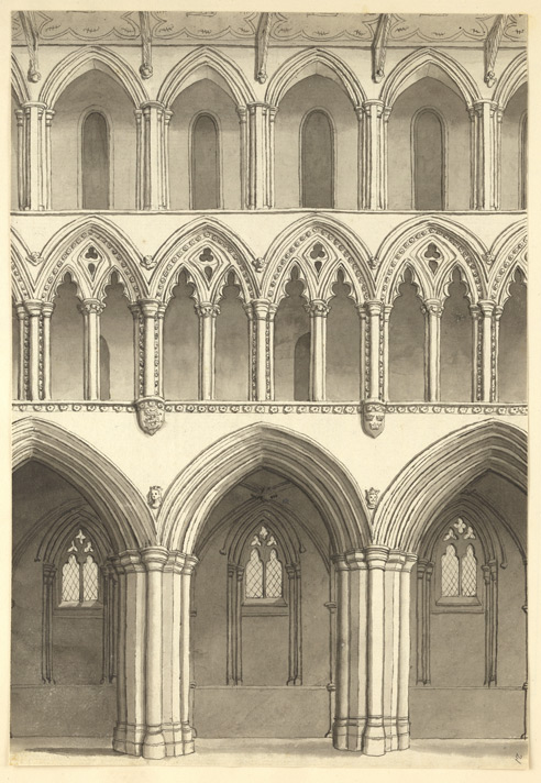St Alban's Abbey, nave f.21